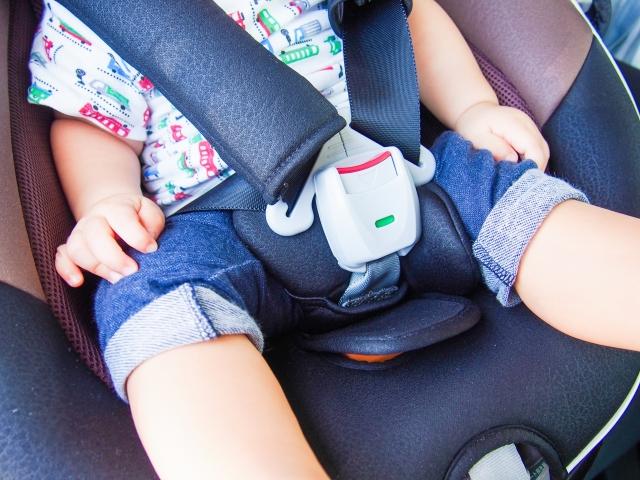 家族の車での安全