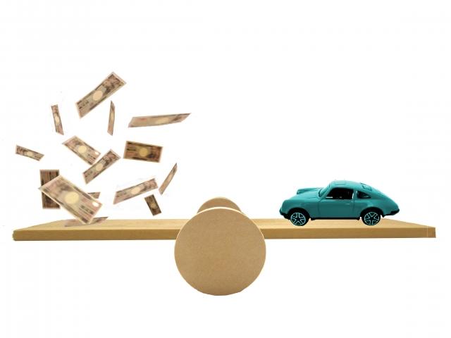基本的に車は1月〜3月、9月〜10月が高く売れる